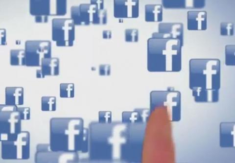 모바일기기가  TV광고시장을 잠식해들어가고 있다. 사진은 페이스북의 모바일광고 연수 화면. http://www.qwaya.com/