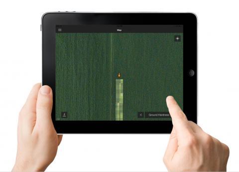 스타트업 '640 Labs'에서 개발한 빅데이터 농업 분석 시스템. 스마트폰, 아이패드 등을 통해 경장지 상황을 상세히 분석할 수 있다. '640 Labs'에서는 이 빅데이터 기술을 몬산토, 디어앤코 등 대기업 기술과 접목시키는 작업을 진행 중이다.