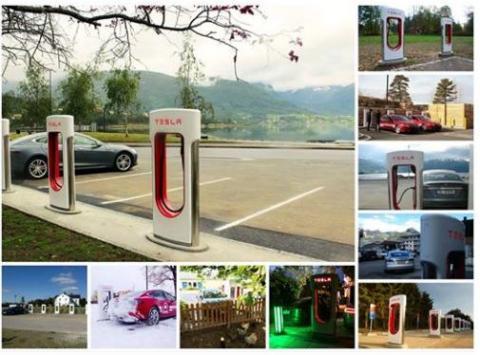 페이스북을 통해 전기자동차 테슬러(Tesler)를 소개하고 있다. 테슬러는 최근 BCG가 실시한 세계 50대 혁신기업 조사에서 7위에 랭크됐다. Ⓒhttps://www.facebook.com/teslamotors