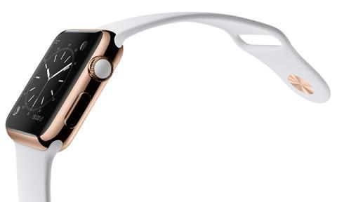 애플의 금 시계 '애플워치 에디션'이 내년 봄 출시될 것으로 알려지면서 롤렉스 등 스위스 업체들이 주도하고 있는 최고급 시계 시장이 요동을 치고 있다.  ⓒhttp://appleinsider.com/