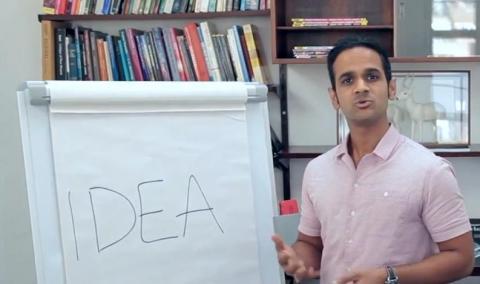 19일 영국 런던 테크시티에서 오픈한 온라인 창업교육 사이트 '디지털 비즈니스 아카데미(DBA, Digigal Business Academy)'에서 동영상으로 교육과정에 대해 설명하고 있다. 세계 최초의 MOOC(온라인 공개수업)으로 세계적인 주목을 받고 있다.  ⓒhttp://digitalbusinessacademyuk.com/