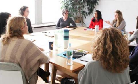 최근 여성 창업인들이 크게 늘고 있는 가운데 디자인, 크라우드펀딩 등 산업 분야에서는 여성들이 특히 두각을 나타내고 있는 것으로 나타났다. 사진은 여성창업 컨설팅 업체인 IGC(In Good Company)의 워크숍.   ⓒhttp://ingoodcompany.com/