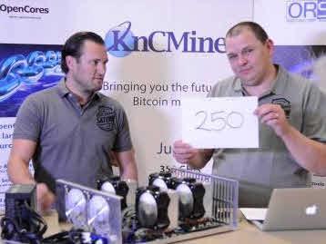 비트코인 채굴기로 대박…KnCMiner