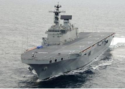 대한민국 해군이 보유한 최대의 강습상륙함인 독도함.  ⓒ 방위사업청