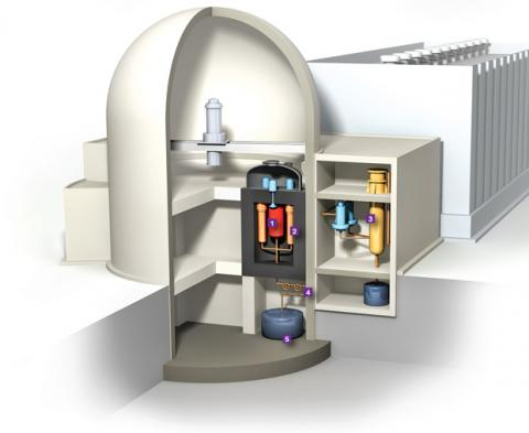 '트랜스아토믹 파워'에서 개발하고 있는 소형 용융점 원자로. 크기와 효율, 안정성 면에서 기존 원자로의 단점을 대거 보완했다는 평을 듣고 있다.  ⓒhttp://spectrum.ieee.org/