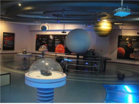 계룡산자연사박물관 - 태양계와 우주 ⓒ ScienceTimes
