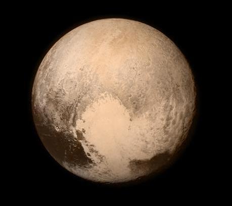 베일 벗은 비운의 행성, 명왕성