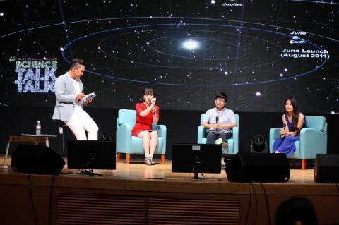 신개념 과학토크쇼 '2015 사이언스 톡톡(Talk Talk)'이 지난 28일 일산 킨텍스에서 열렸다.