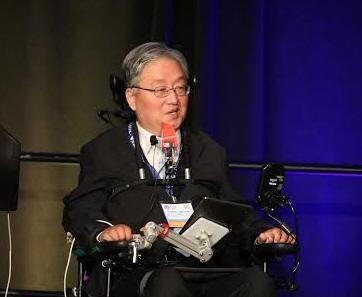 한국의 '스티븐 호킹'이라 불리는 이상묵 서울대 지구환경과학부 교수. ⓒ 권영일