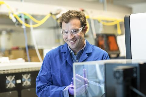 DNA-유도 인체 3D 프린팅 기술 연구를 지도한 Zev Gartner 교수 ⓒ photos by Elisabeth Fall