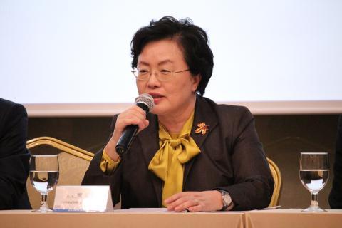 백희영 한국여성과학기술단체총연합회 회장은 대학연구에서의 젠더혁신 도입을 강조했다. ⓒ 이슬기 / ScienceTimes