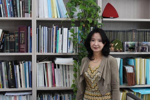 윤채옥 교수는 여성이 대단위 과제를 이끌 수 있는 기회가 많이 주어져야 한다고 말했다. ⓒ 이슬기 / ScienceTimes