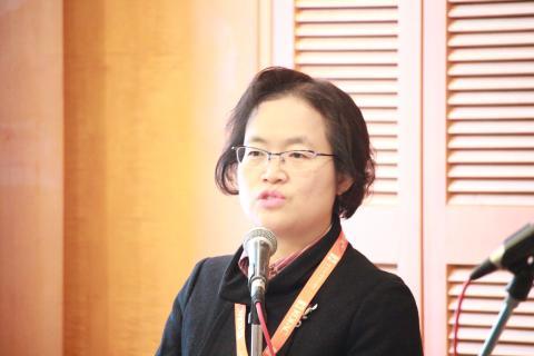 한국과학기술정보연구원의 김혜선 연구원은 CC라이선스에 의한 콘텐츠 공유는 학술 논문 사이트에서 가장 활발하게 사용되고 있다고 밝혔다. ⓒ 이슬기 / ScienceTimes