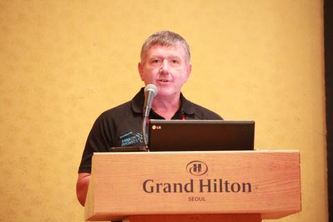 스튜어트 콜하겐(stuart kohlhagen) 퀘스타콘(Questacon) 부회장은 파트너십에 있어 '공유'를 중요하게 생각한다고 밝혔다.