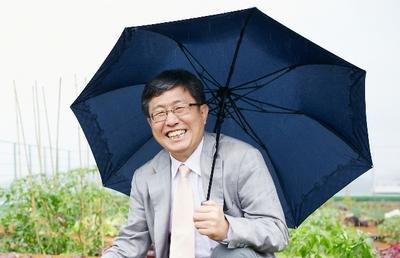 빗물 재활용을 통해 가뭄 해결 방안을 연구 중인 한무영 교수 ⓒ 서울대