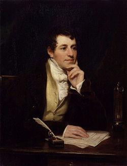 아산화질소의 마취 효과를 처음 발견한 험프리 데이비(1778~1829). ⓒ 위키피디아