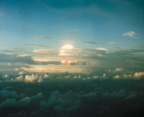 세계 최초의 수소폭탄 아이비 마이크의 폭발실험(1952년). ⓒ Free Photo