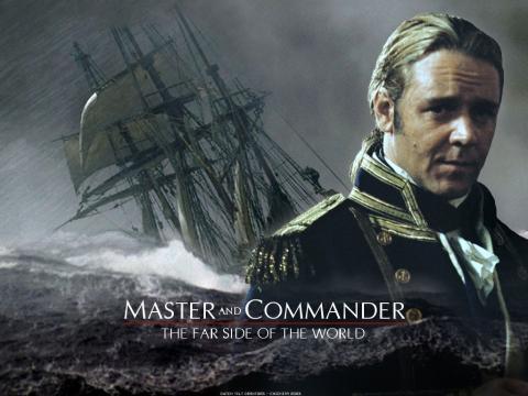 Master And Commander 영화 포스터.  ⓒ 포스터