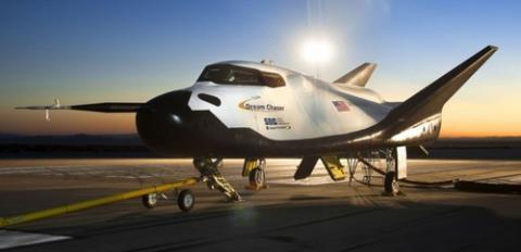 항공기 형태의 우주왕복선 드림체이서 ⓒ NASA