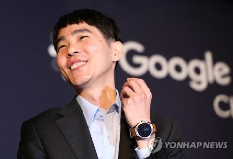 대국이 끝난뒤 가진 기자회견에서 호탕하게 웃는 이세돌 9단 ⓒ 연합뉴스