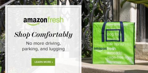 아마존의 식료품 배달서비스 '아마존 프레시'
