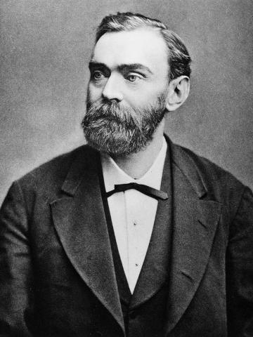 알프레드 노벨은 다이너마이트를 발명해 모은 돈으로 노벨상을 제정했다. ⓒ 위키피디아 Public Domain