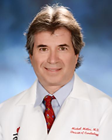 시니어 저자로 연구를 이끈 미국 메릴랜드대 심장병학자 마이클 밀러 교수 ⓒUniv. of Maryland, Scool of Medicine
