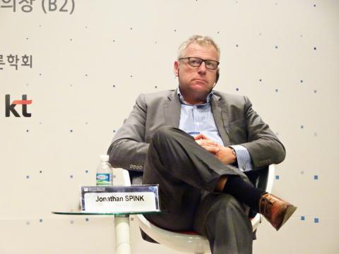조나단 스핑크 아시아 대표는 컨텐츠의 중요성에 대해 강조했다. ⓒ김은영/ ScienceTimes