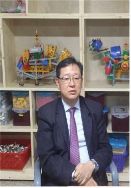 17회 제주과학축전 운영위원장 고용철 세화중학교 교감.  ⓒ 김주현 / ScienceTimes