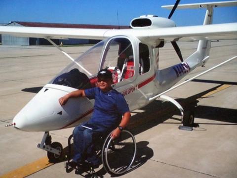 하늘을 날겠다는 그의 새로운 도전은 성공했다. 이제 그는 새처럼 하늘에서 자유롭게 날아오를 수 있다. ⓒ ScienceTimes