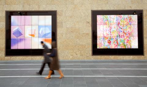 백화점 외벽에 쇼윈도 대신 생기고 있는 디지털 사이니지 광고판들. ⓒ flickr.com