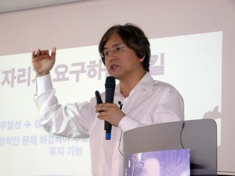 박형주 국가수리과학연구소 소장은 '미래지능정보화 사회에서의 창의 교육'은 '문제해결능력'을 기르는 것이라고 강조했다.