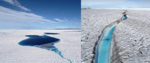 그린란드 빙원 모습. 그린란드 북동쪽 자카리아 이스브래(Zachariae Isbræ) 지역. Credit: Anders A Bjørk ⓒ ScienceTimes