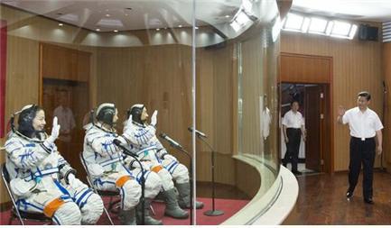 지난 8월 28일 중국 베이징에서 개최된 '중국항공발동기그룹'의 창립 모습.  ⓒ 정부관망(政府官网)