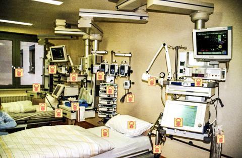 오염된 의료시설은 교차 오염을 증가시킨다.  ⓒ Wikipedia /Intermedichbo