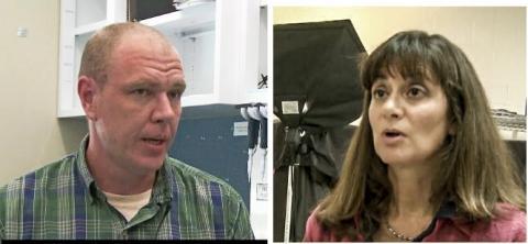 연구를 수행한 미주리대 애런 에릭슨 교수(왼쪽)와 엘리자베스 브라이다 교수 ⓒ ScienceTimes
