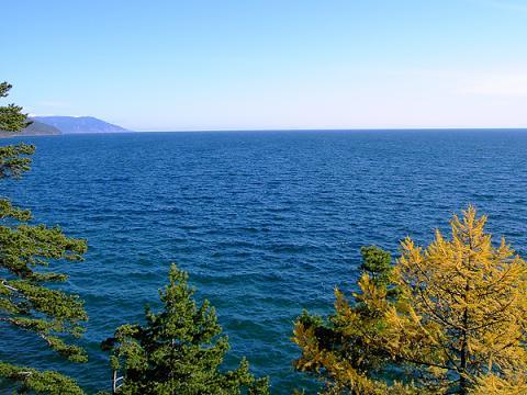 '세계의 민물 창고'로 불리는 바이칼 호수의 저수량은 약 2만2000㎢로서, 담수호 가운데 최대 규모다. ⓒ 위키미디어 public domain