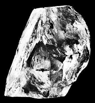 컬리난 다이아몬드 원석 ⓒ 위키피디아