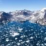 그린란드 빙하가 녹고 있다
