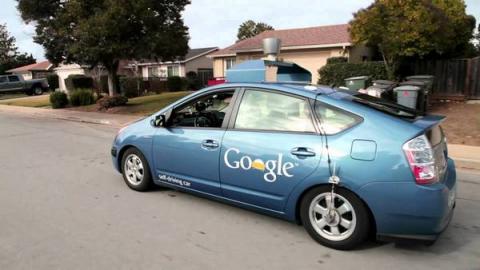 구글의 자율주행차 ⓒ Google