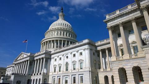 미국 연방헌법에는 '지식재산(IP)조항'이 명백하게 존재한다. 사진은 미국 연방의회 건물
