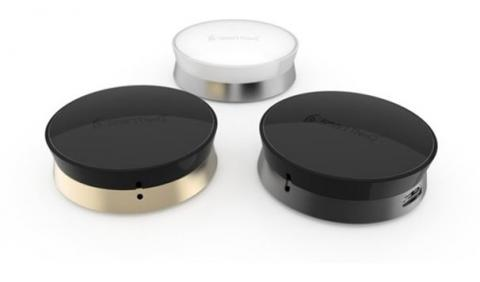 LG전자가 출시한 '스마트씽큐 센서(SmartThinQ™ Sensor)'는 캄테크를 적용한 제품이다. 조그만한 센서 하나가 다른 전자제품에 부착되어 사물인터넷이 가능한 스마트기기로 바꿔준다. 세탁기에 붙여 놓으면 세탁기의 진동 상태 등을 감지해 세탁 종료 여부를 스마트폰으로 알려주고, 로봇청소기에 붙이면 위치 등을 추적해 로봇청소기의 청소 상태를 스마트폰으로 확인할 수 있습다.