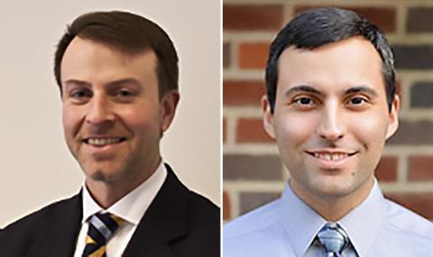 연구를 수행한 존 웨리 교수(왼쪽)와 라민 헤라티 박사 사진 : University of Pennsylvania