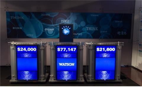 왓슨은 2011년 제퍼디 퀴즈쇼에 출연해 압도적인 점수 차로 승리했다.  ⓒ Flickr