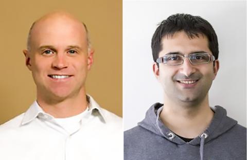 연구를 수행한 윌리엄 머피 교수(왼쪽)와 논문 제1저자인 지안루카 폰타나 박사 credit : MurphyGroup / UW-Madison