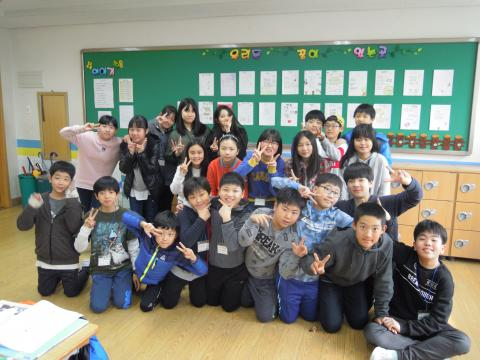 즐겁게 소프트웨어 수업을 한 6학년 학생들. ⓒ 김지혜/ScienceTimes