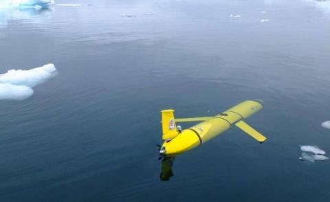 17일부터 남극해 깊은 바다 속을 횡단할 드론 잠수정 '보티 맥포트페이스(Boaty McBoatface)'. 기후변화에 큰 영향을 미치는 남극저층수의 비밀을 밝혀낼 계획이다.