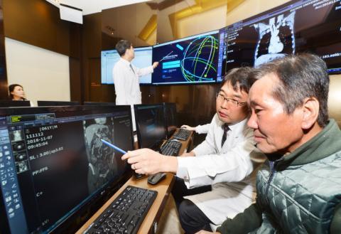 국내 길병원에 설치된 왓슨 인공지능암센터 ⓒ 가천대 길병원
