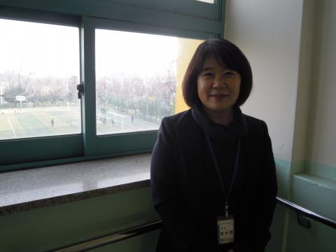 제물포중학교의 소프트웨어 교육을 담당하고 있는 조수연 선생님. ⓒ김지혜/ ScienceTimes