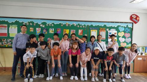 대구 매천초등학교 6학년3반 학생들. ⓒ김지혜/ ScienceTimes